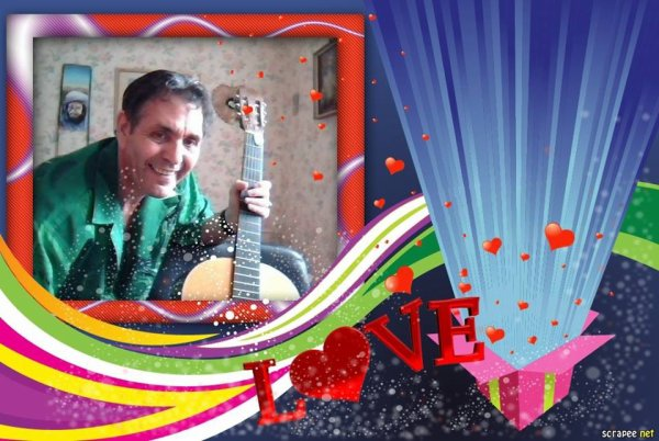 J'aime ma Guitare car il me donne le sourire --- LOL