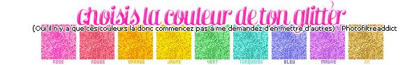 - --Effet de texte brillant : Texte glitter !-- Logiciels : Photofiltre & Photoshop | Niveau : Débutant| Temps : 2-3 minutes -