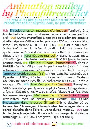 - --Le smiley animé de Photofiltreaddict :p-- Logiciels : Photofiltre & Photoscape | Niveau : Apprenti | Temps : +/- 5 minutes -