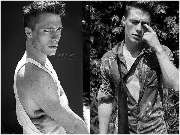 • 26 août 2012 :Nouveau photoshoot de Colton.   Les photos ont été prises par Tony Duran.
