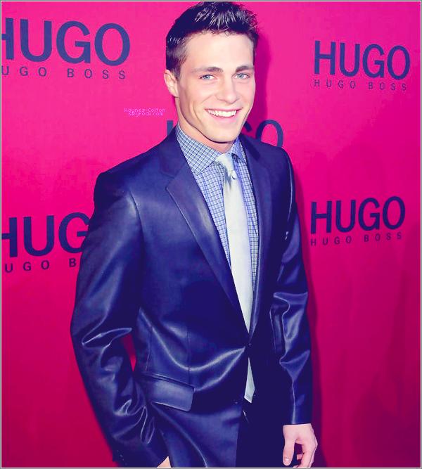 • 20 janvier 2011 : Colton à la fashion week d'Hugo Boss à Berlin   Il était à la fois, beau, élégant. et souriant.