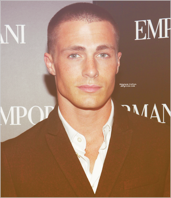 • 7 Septembre 2012 : Colton à la John Varvatos And Converse Celebrate Fashion Week And The Launch Of The Weapon