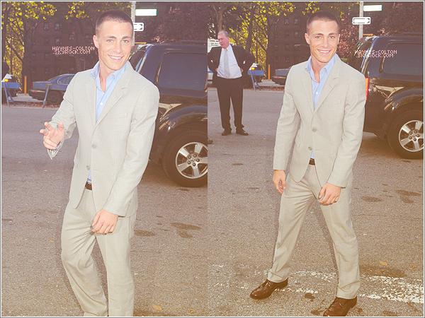 • 9 Septembre 2012 : Colton à la fashion week de Mercedes-Benz.     Toujours aussi souriant ! Il est à tomber...
