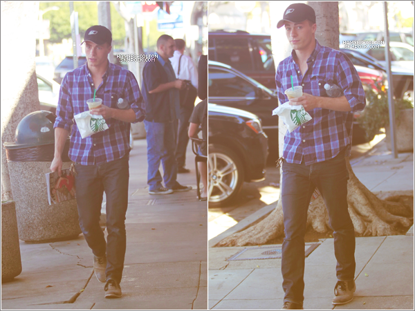 • 18 Octobre 2012 : Colton au Starbucks à Los Angeles.