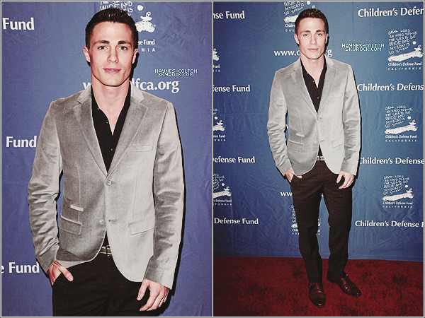 • 6 Déc. Colton au 22nd Annual Beat The Odds Awards.      Il s'est rendu à l'événement accompagné de son ex co star, Holland Roden.