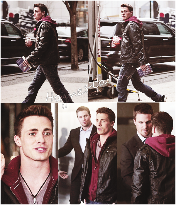 [font =consolas] • 27 avril. Colton a assisté à un diner à Washington.     Il est comme d'habitude, excellent.. j'adore. ♥