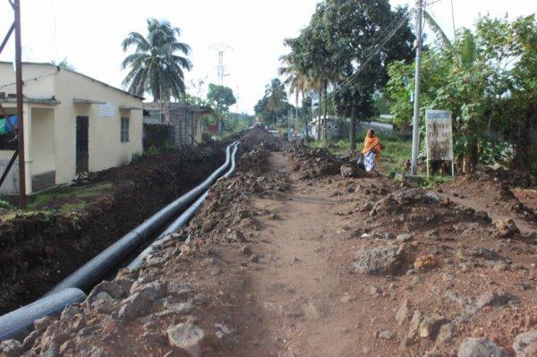 Réhabilitation du réseau d'eau de Mamwe : «Le projet ne prend pas en charge la réfection de la Rn2»