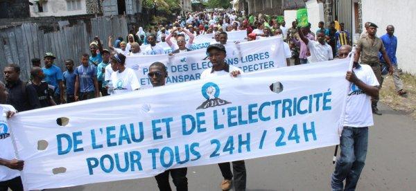Échéance électorales : marche pacifique pour le respect des textes