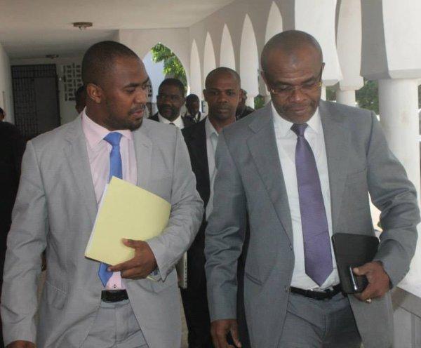 Le Gouverneur d'Anjouan Anissi Chamsidine