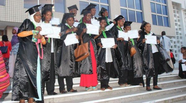 Enseignement supérieur : Remise de diplômes à six promotions de l'Est