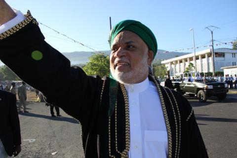 Les élections des Comores 2015 LE PRESIDENT SAMBI TOUJOURS POPULAIRE