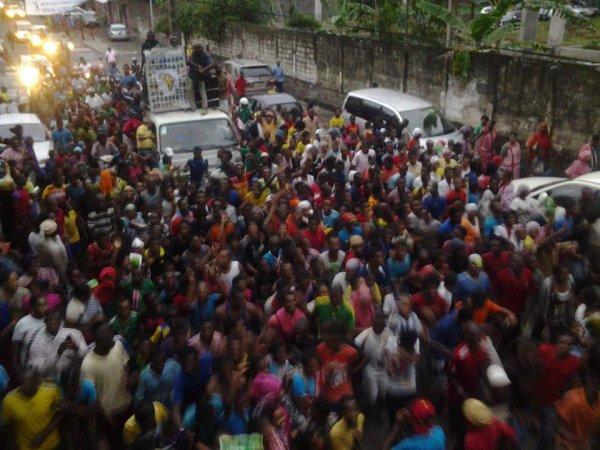 Elections législatives et des conseillers des îles : GRAND COMORES