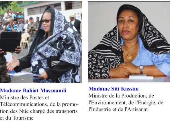 Membres du gouvernement Ikililou III