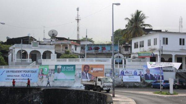 Une présidentielle très ouverte aux Comores