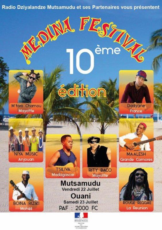MEDINA FESTIVAL 10 édition 2016