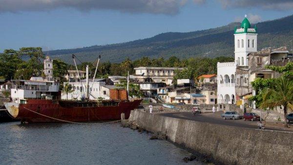 Les liens diplomatiques entre les Comores et la Chine se renforcent Moroni, capitale des Comores.