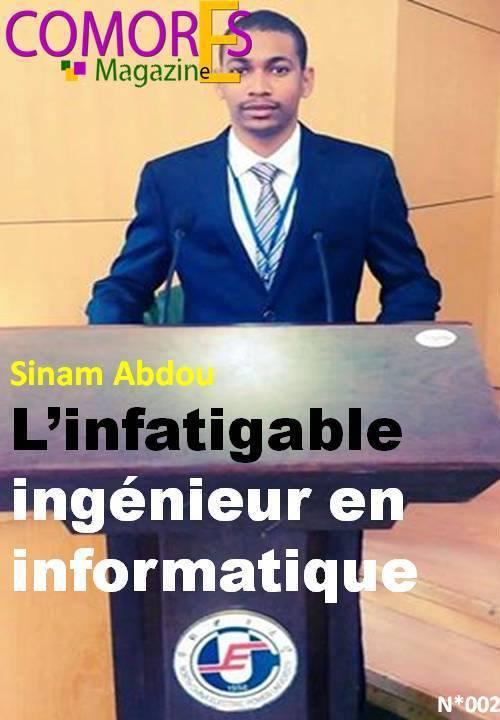 SINAM Abdou ingénieur en informatique