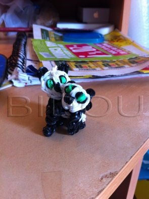 bébé panda et maman panda