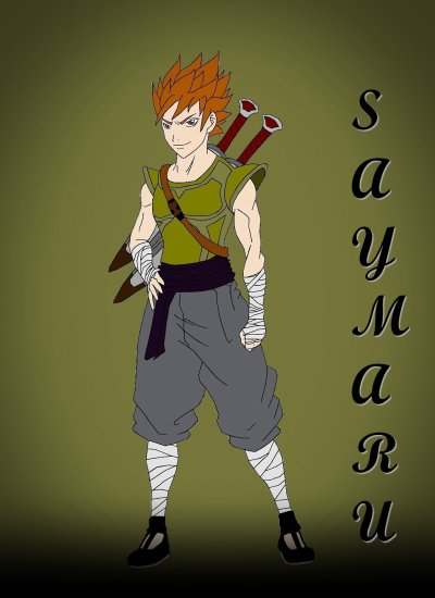 Saymaru dessiné par Vizaw