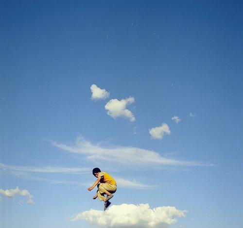 """""""De toute façon, j'ai toujours voulu vivre sur un nuage."""""""