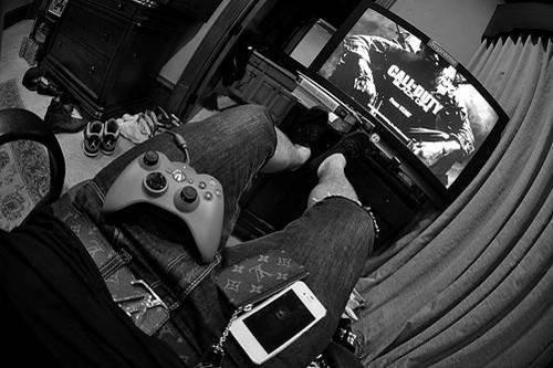 Un jour mon prince viendra... Mais pas maintenant, il joue à Call Of Duty.