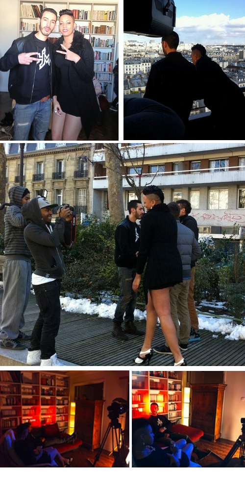 MAKING-OFF    ''Je marche seule'' - Kathleen ft. Canardo ♥
