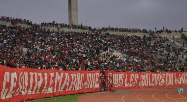 Ce soir le Maroc joue sous les couleurs du WAC