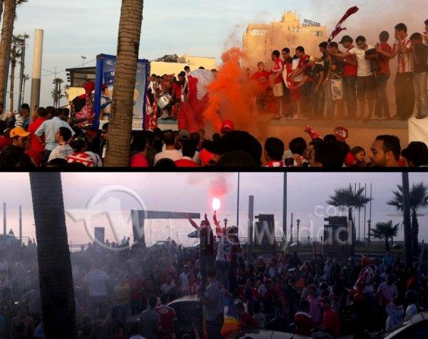 Le peuple rouge exprime sa joie après la qualification ramenée du Nigéria