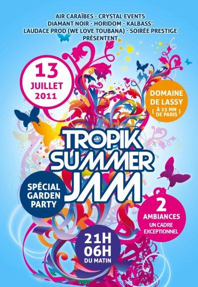 DJ LUDOVICK A LA SUMMER JAM LE 13 JUILLET 2011