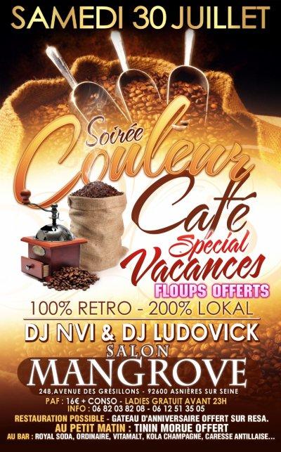 DJ LUDOVICK AU SALON MANGROVE SAMEDI 30 JUILLET 2011