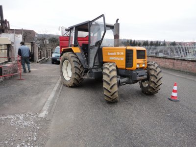 renault 70-34 tracfor + benne lemaitre