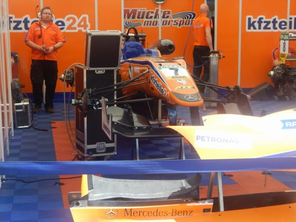 Mikkel Jensen pilote Formule 3 Gp de Pau