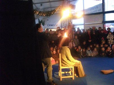 Spectacle à la commune de      Champagnole à l'espace Montrivel le mardi 21 décembre 2010