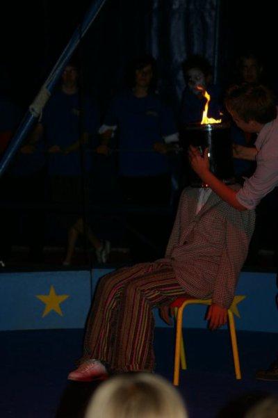 Portes ouvertes de l'école de cirque le 11 septembre 2010
