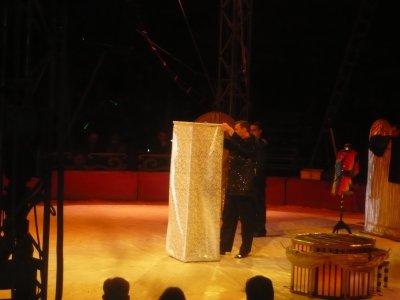 Les transformistes du cirque de Moscou au Cirque Medrano
