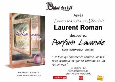 Parution de mon second roman Parfum Lavande