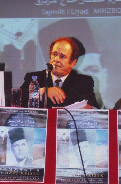 L'itinéraire de Cheikh El Hadj Mrizek par Mr Abdelkader Bendamèche