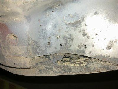 restauration des bas de caisse et longerons