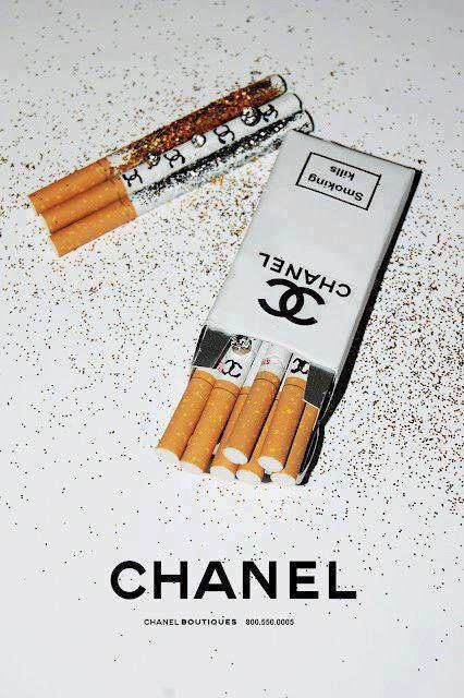 Chanel's Cigarettes
