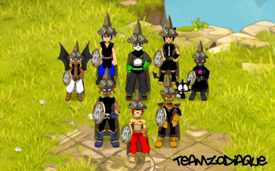Team Zodiaque, un nouveau défi.