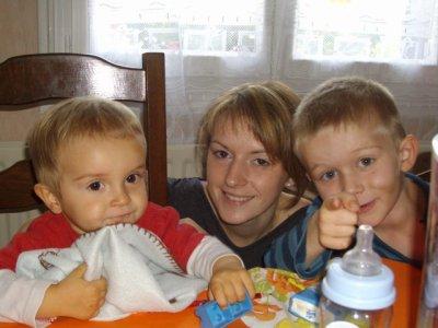 ma soeur et mes neveux