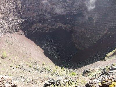 le crater du vesuve