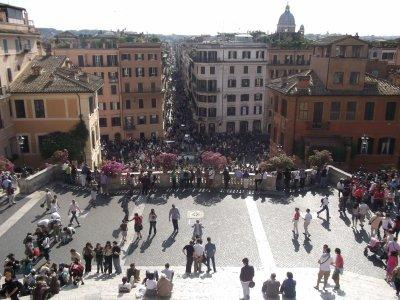 rome:la place espagnole