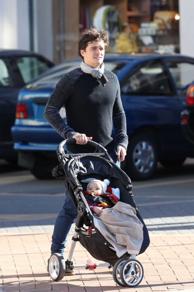 orlando bloom et son fils flynn