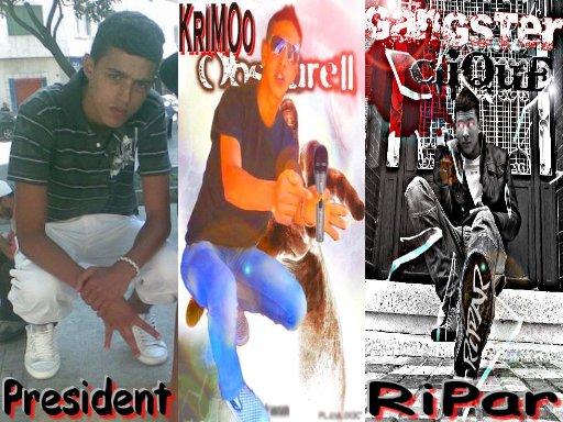 Mc KriMo Ft RiPar Ft President  Flow De Gangsters