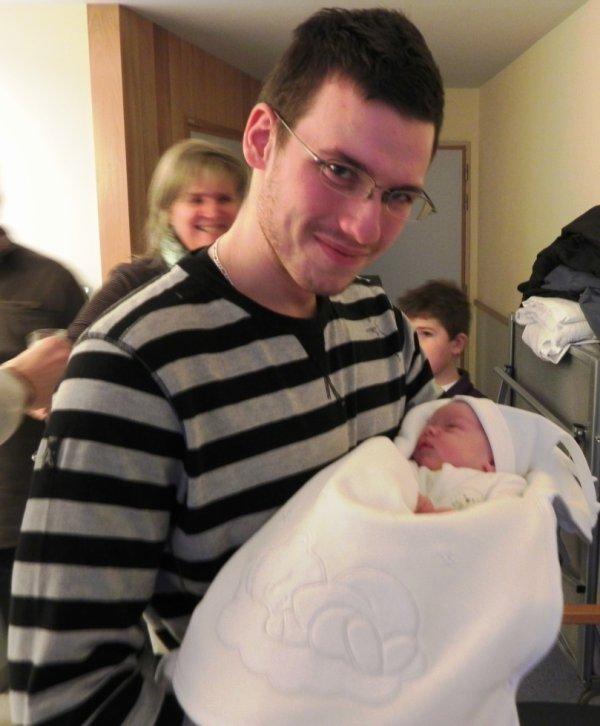 moi et mon tit cousin