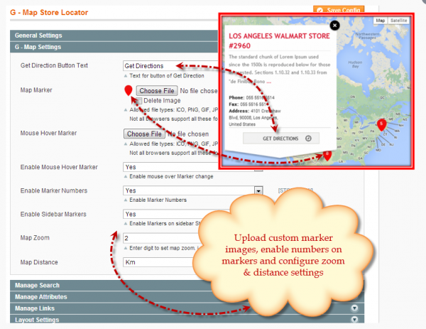 Magento Advance Google Maps Store Locator by FME