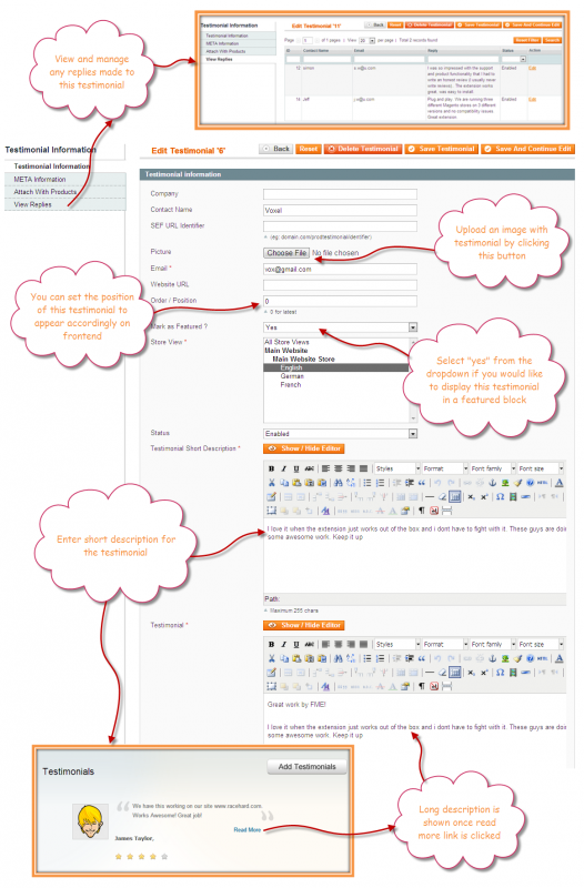 Magento Product Reviews Extension by FME