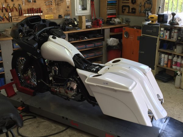 realisation bagger road glide 1999