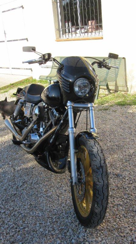 dyna low rider 1994 monté style dynamite crew